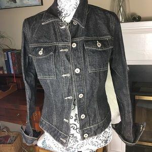 Vintage Guess black jean jacket